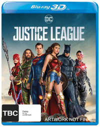 Justice League on 3D Blu-ray