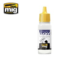 Ammo of Mig Jimenez: Ultra-Matt Lucky Varnish (17ml)