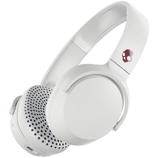 Skullcandy: Riff Wireless On-Ear Headphones - Vice/Grey/Crimson