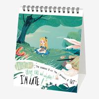Legami: Alice In Wonderland 2020 Desk Calendar image