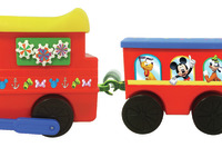 Kiddieland: Powered Train Activity Ride-On - Mickey Mouse image