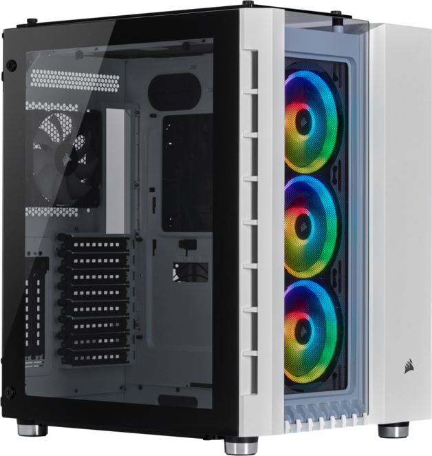Corsair Crystal Series 680x Rgb Tempered Glass Smart Mid Tower Case At Mighty Ape Nz