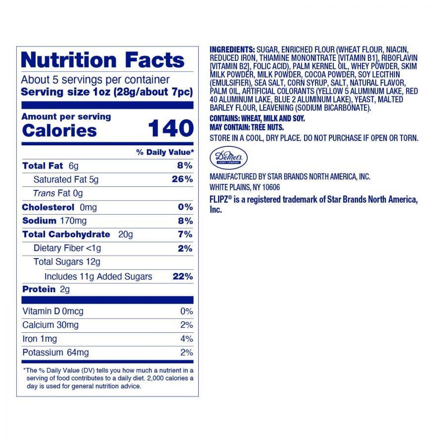 Flipz: Milk Caramel Sea Salt Pretzels 130g image