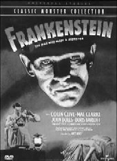 Frankenstein on DVD