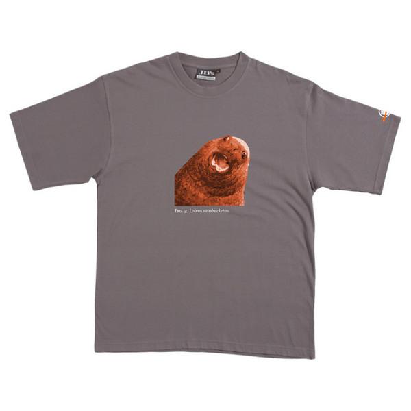 Lolrus Sansbucketus - Tshirt (Steel) for