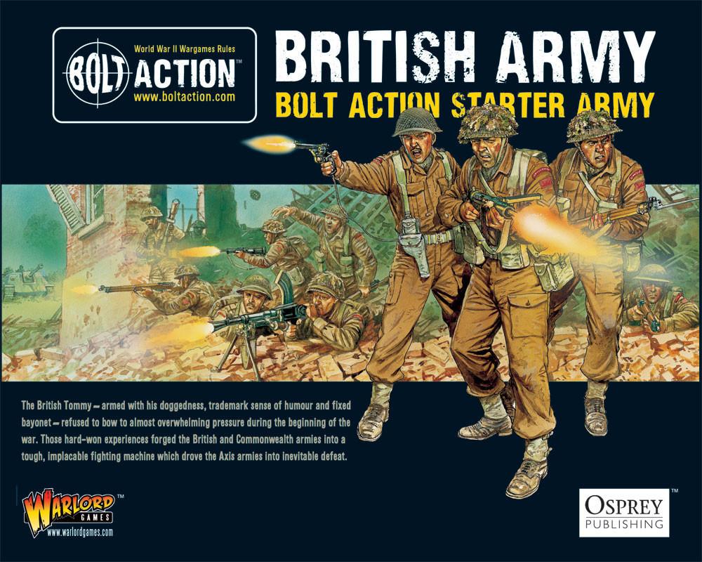 Bolt Action Starter Army British image