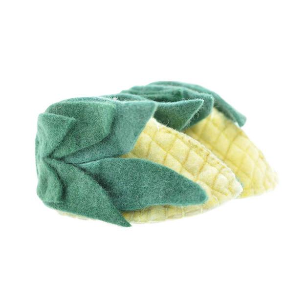 Woolie Slippers - Corn