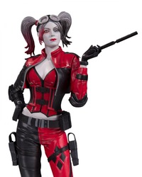 Injustice 2 - Harley Quinn Red White Black Statue