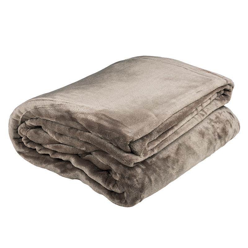 Bambury King Ultraplush Blanket (Oyster) image