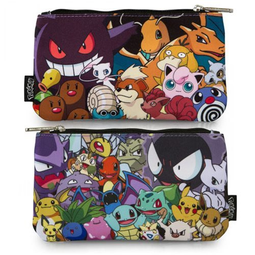 Loungefly Pokemon Character Print Pencil Case