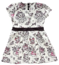 Sourpuss Creep Heart Dress (Size 6)
