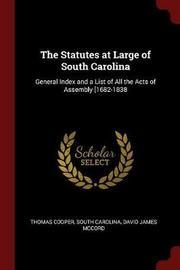 The Statutes at Large of South Carolina by Thomas Cooper image