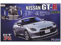 Fujimi: 1/24 Nissan GT-R R35 (with engine) - Model Kit