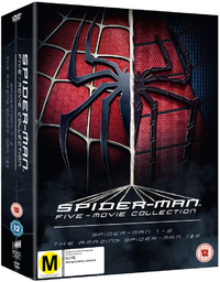 Spider-Man Five Movie Collection on DVD