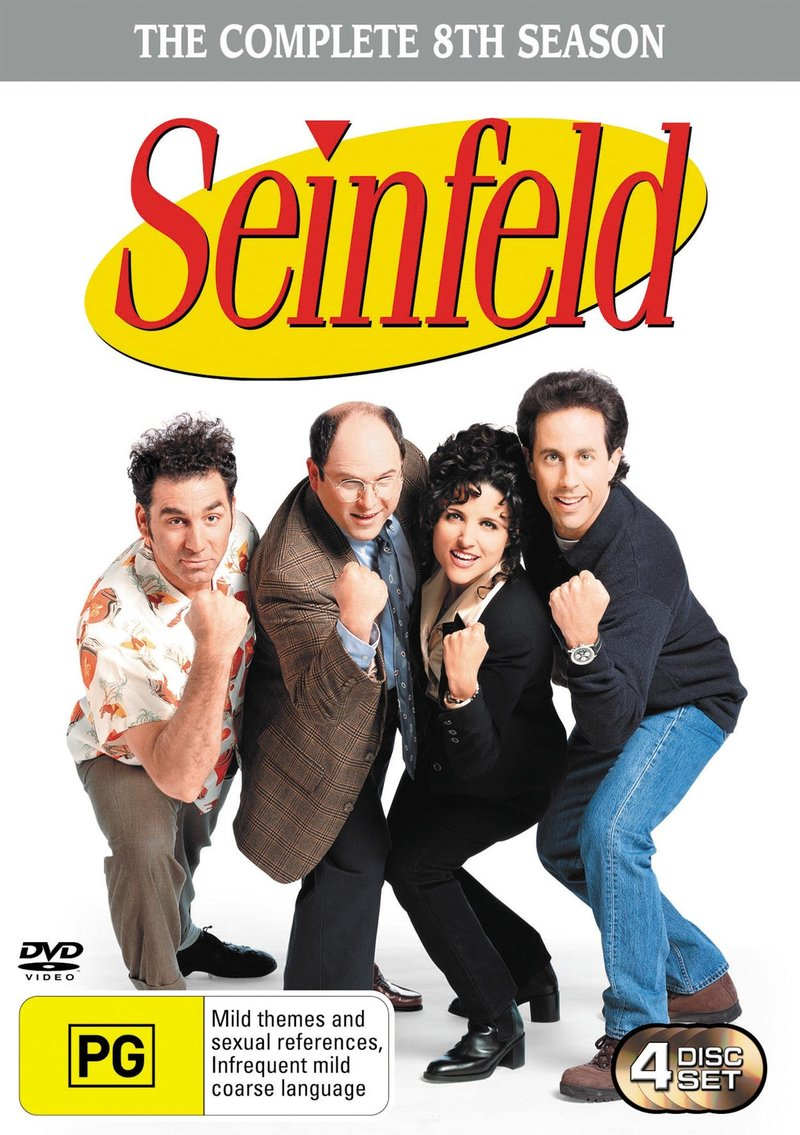 Seinfeld - The Complete 8th Season on DVD image