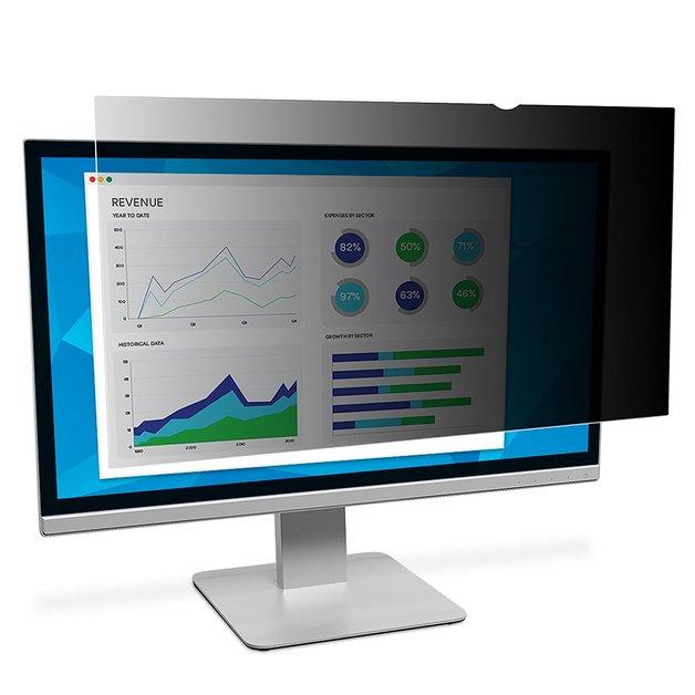 """3M PF215W9B 21.5"""" 16:9 Monitor Privacy Screen Filter"""