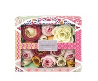Vintage & Co: Fabric & Flowers Soap Flowers (70g)
