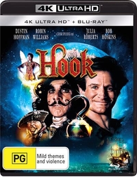 Hook on Blu-ray, UHD Blu-ray