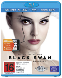 Black Swan on DVD, Blu-ray