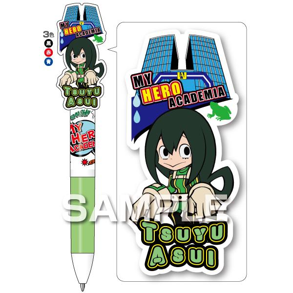 My Hero Academia: Tsuyu Asui - 3 Colour Ballpoint Pen