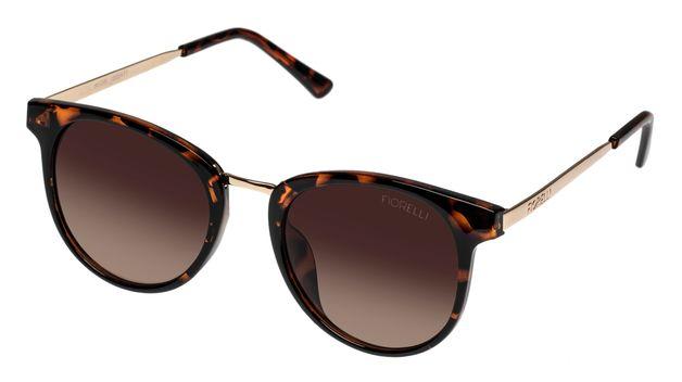 Fiorelli: Avon Sunglasses - Tortoise + Brown Lens