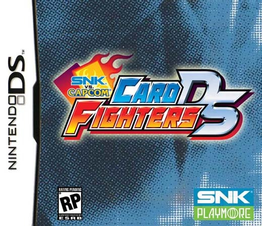 SNK vs. Capcom Card Fighters for Nintendo DS