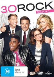 30 Rock - Season 6 on DVD