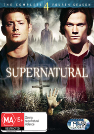 Supernatural - The Complete 4th Season on DVD