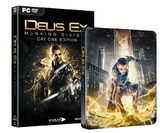 Deus Ex: Mankind Divided Day 1 Steelbook Edition for PC Games