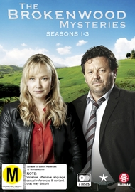 The Brokenwood Mysteries - Series 1-3 Boxset DVD