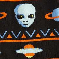 Men's - Alien Sweater Sighting Crew Socks image