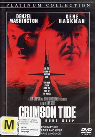 Crimson Tide on DVD image
