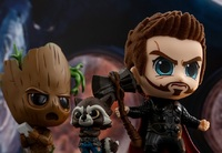 Avengers: Infinity War - Thor, Rocket & Groot Cosbaby Figure Set