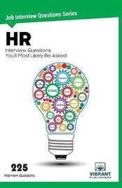 HR Interview Questions You'll Most Likely Be Asked by Vibrant Publishers