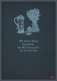Mace & Mace: Go To The Pub Greeting Card