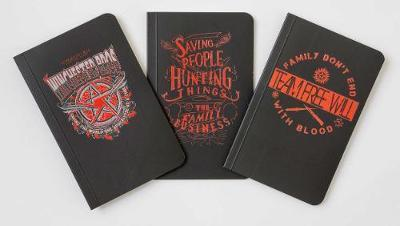 Supernatural Pocket Notebook Collection (Set of 3) by Insight Editions