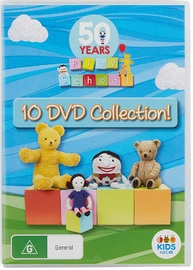 50 Years of Play School - 10 DVD Collection on DVD