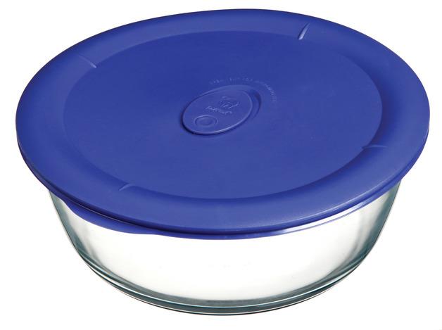 Pyrex: Pro Round Storage Dish - Blue (2.85L)