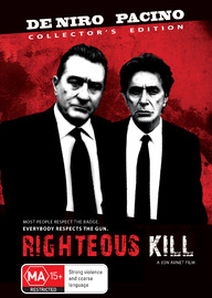 Righteous Kill on DVD