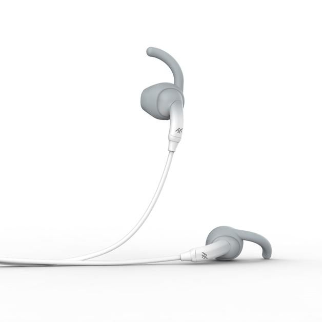 iFrogz: Sound Hub Tone Earbuds - White/Grey