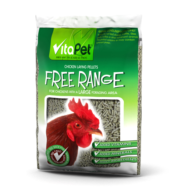 Vitapet: Free Range Chicken Food 5kg