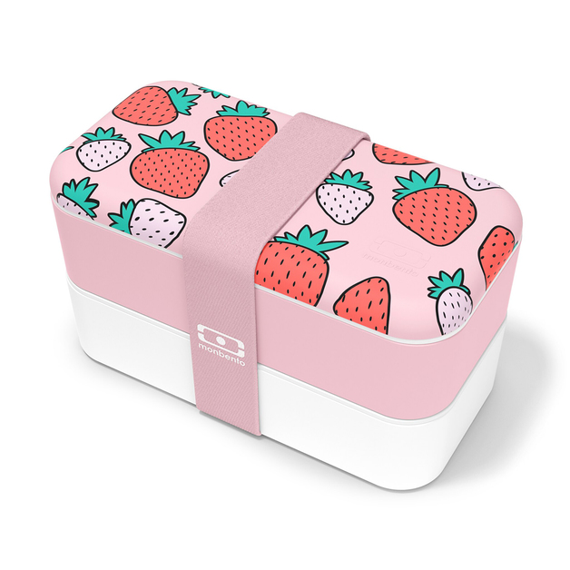 Monbento: Original Graphic Lunch Box (Strawberry)
