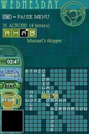 New York Times Crossword for Nintendo DS image