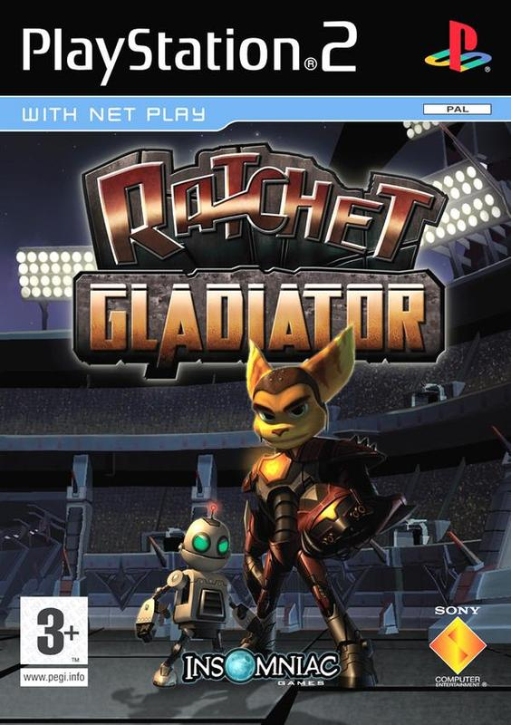 Ratchet: Gladiator for PS2