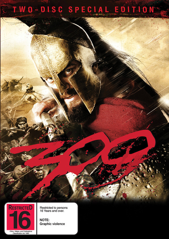 300 - Special Edition on DVD
