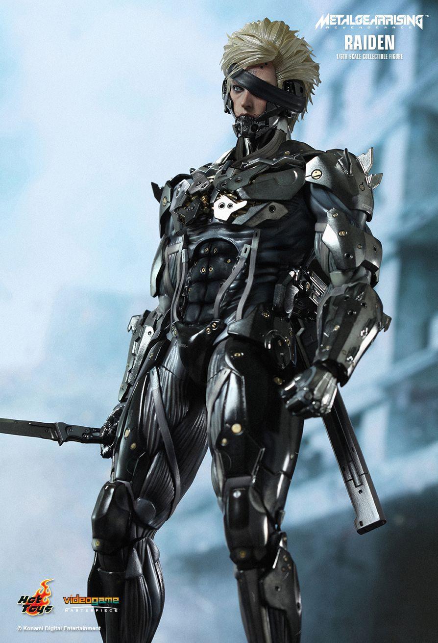 "Metal Gear Rising Raiden 12"" Figure image"
