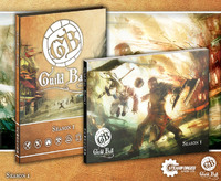 Guild Ball Season 1 A4 Rulebook (with Sleeve)