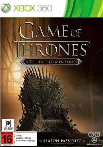 Game of Thrones Season One for X360