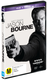 Jason Bourne on DVD image