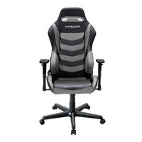 DXRacer Drifting Series DM166 Gaming Chair (Black and Grey) for